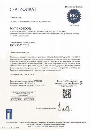 Mit--Co 45001-BG